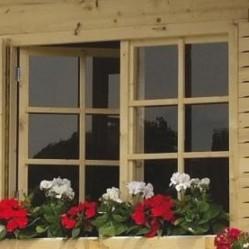AMAKSZ Virágláda 130-es - Kentucky faház ablaka alá rendelehető, kerti tároló